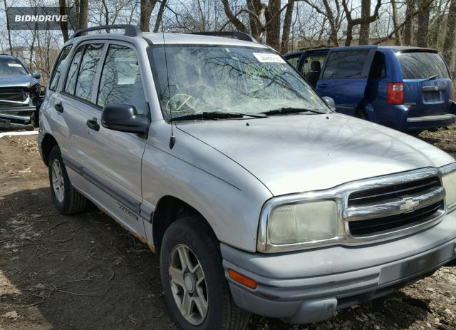 Lot #1125232453 2004 CHEVROLET TRACKER salvage car