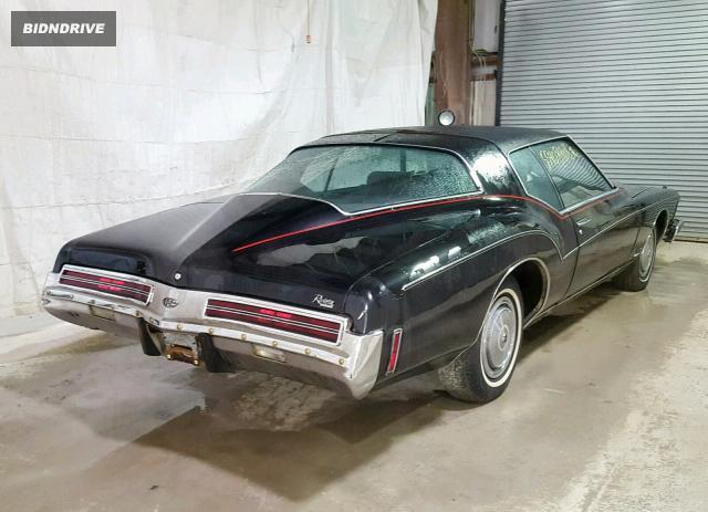 Lot #1251601639 1973 BUICK RIVIERA GS salvage car