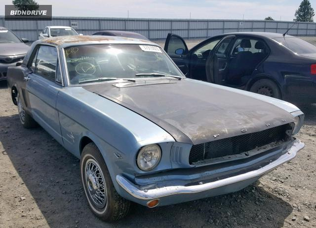 Lot #1334751913 1965 FORD MUSTANG salvage car