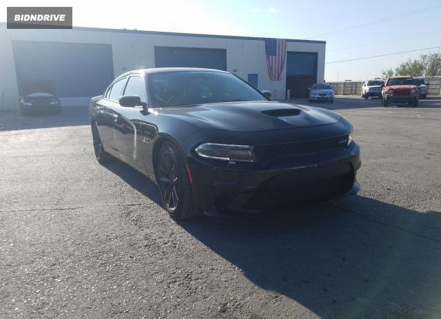 Lot #1571941983 2020 DODGE CHARGER R/ salvage car