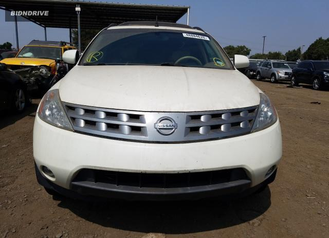Lot #1588050926 2005 NISSAN MURANO SL salvage car