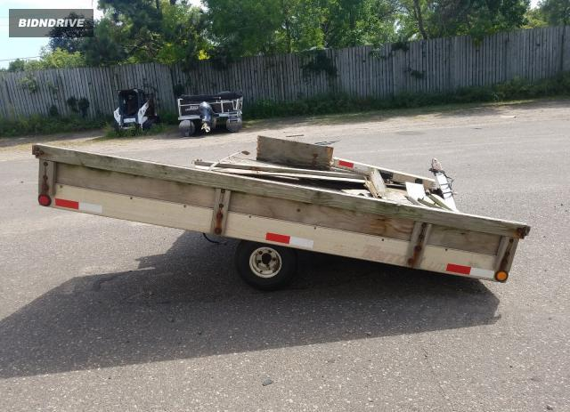 Lot #1591724549 2000 TRITON TRAILER salvage car
