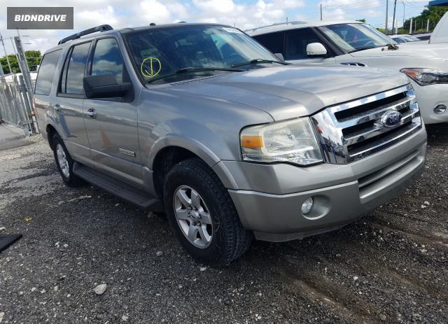 Lot #1596261496 2008 FORD EXPEDITION salvage car