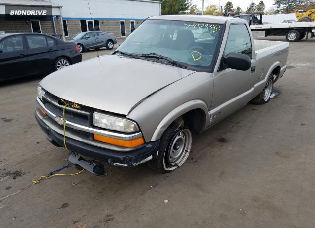 Lot #1600275149 2000 CHEVROLET S TRUCK S1 salvage car