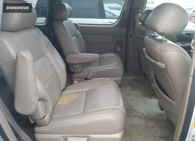 Lot #1600828826 2002 TOYOTA SIENNA LE salvage car