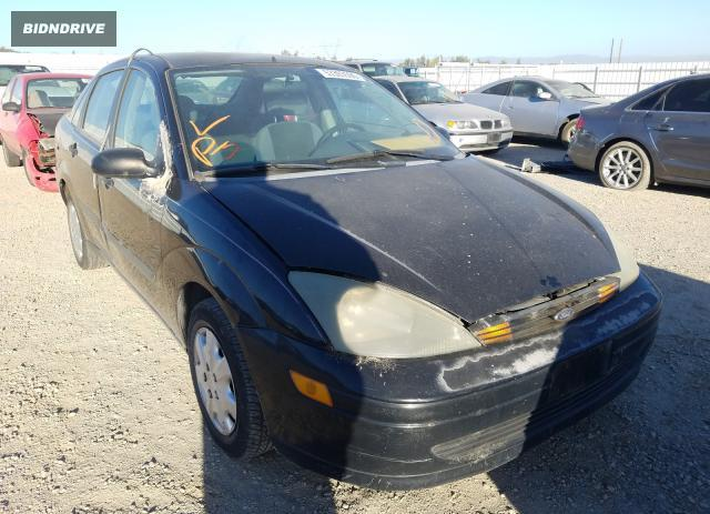 Lot #1606876929 2004 FORD FOCUS LX salvage car