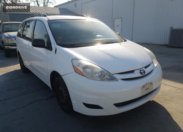 Lot #1606889869 2008 TOYOTA SIENNA CE salvage car