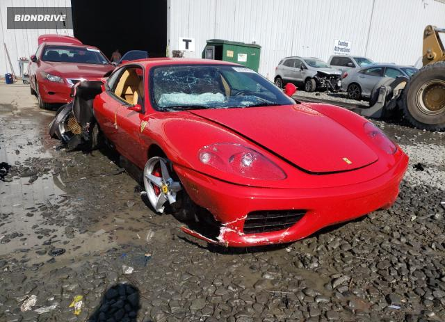 Lot #1607236366 2002 FERRARI 360 MODENA salvage car