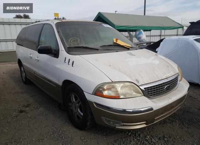 Lot #1607259836 2001 FORD WINDSTAR S salvage car