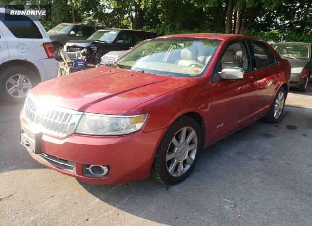 Lot #1607322376 2008 LINCOLN MKZ salvage car