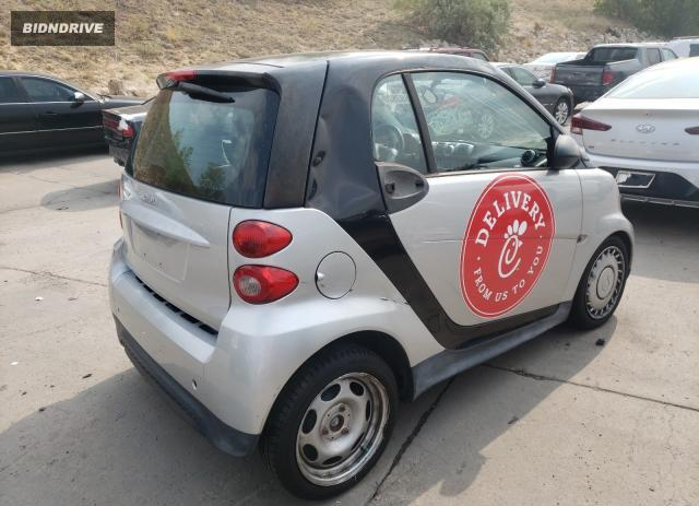 Lot #1607828613 2013 SMART FORTWO salvage car