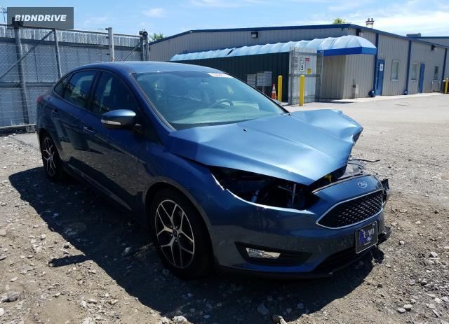 Lot #1607875546 2018 FORD FOCUS SEL salvage car