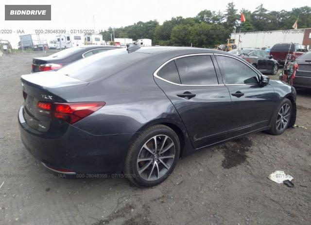 Lot #1610747003 2015 ACURA TLX TECH salvage car