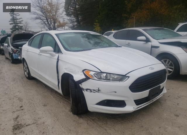 Lot #1610932213 2013 FORD FUSION SE salvage car