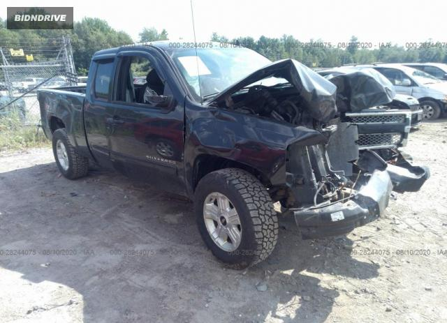 Lot #1611270123 2010 CHEVROLET SILVERADO 1500 LT salvage car