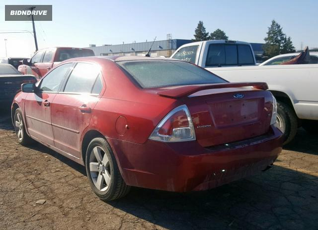 Lot #1611373003 2008 FORD FUSION SE salvage car
