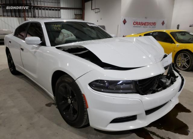 Lot #1611392663 2016 DODGE CHARGER SX salvage car