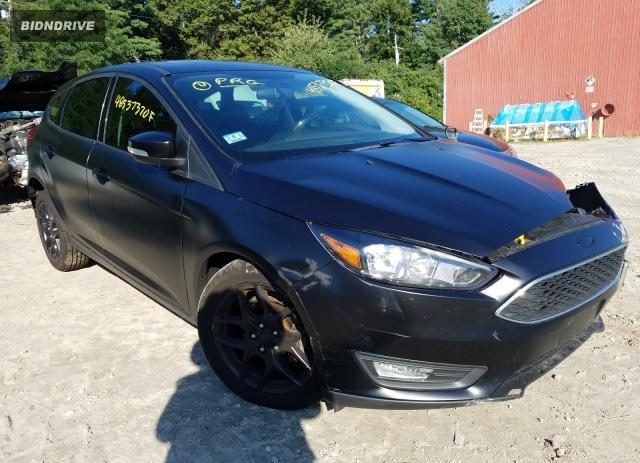 Lot #1611418986 2018 FORD FOCUS SEL salvage car