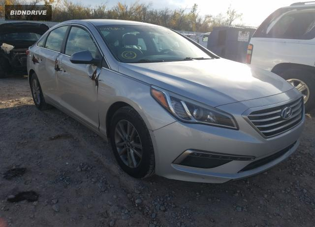 Lot #1611862216 2015 HYUNDAI SONATA SE salvage car