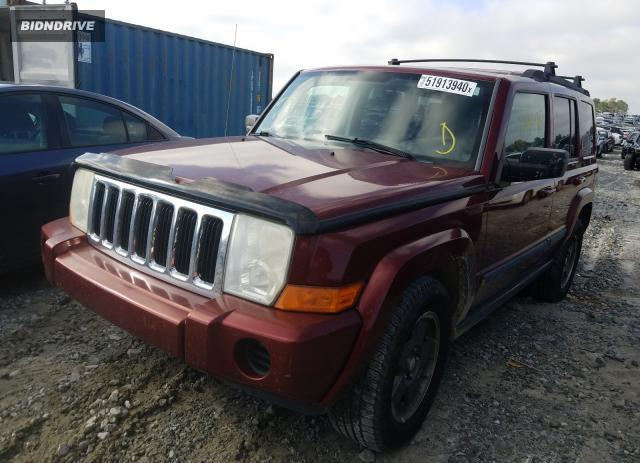 Lot #1612011903 2008 JEEP COMMANDER salvage car