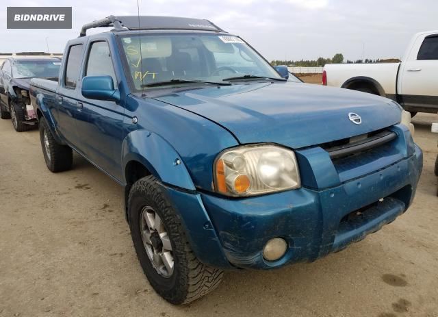 Lot #1612027009 2003 NISSAN FRONTIER C salvage car