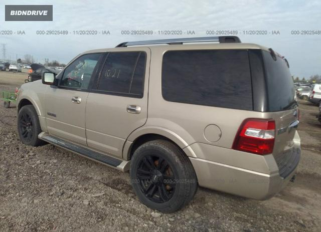 Lot #1612300849 2007 FORD EXPEDITION LIMITED salvage car