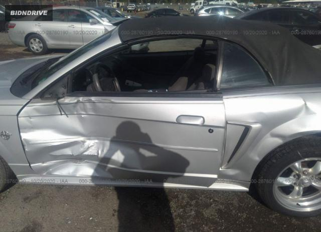 Lot #1612310073 1999 FORD MUSTANG salvage car