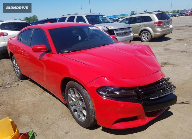 Lot #1612373256 2017 DODGE CHARGER SX salvage car