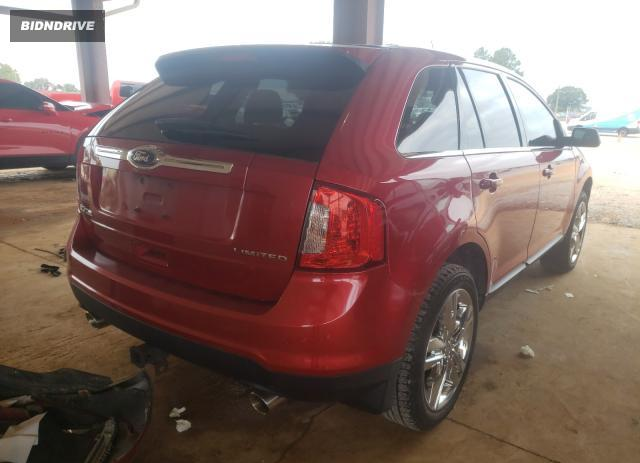 Lot #1612504336 2012 FORD EDGE LIMIT salvage car