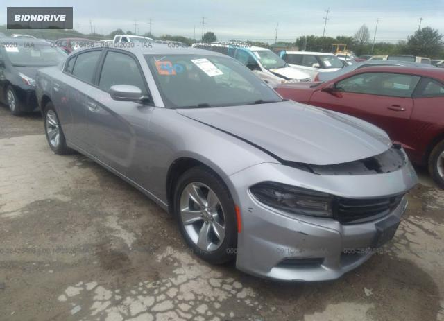 Lot #1612847759 2016 DODGE CHARGER SXT salvage car
