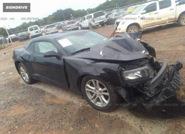 Lot #1613885096 2014 CHEVROLET CAMARO LS salvage car