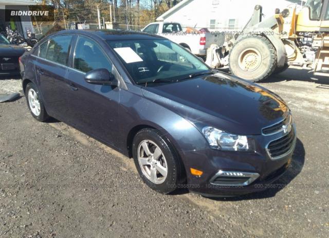 Lot #1613885856 2015 CHEVROLET CRUZE LT salvage car