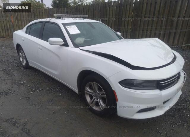 Lot #1613903623 2015 DODGE CHARGER SE salvage car