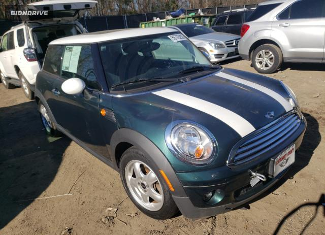 Lot #1613965929 2010 MINI COOPER salvage car