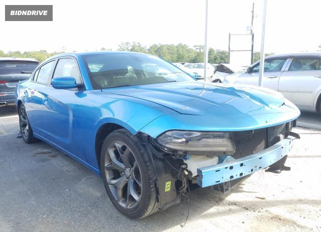 Lot #1614099669 2016 DODGE CHARGER SX salvage car