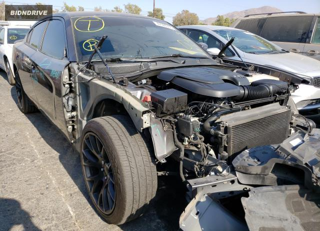 Lot #1615641616 2017 DODGE CHARGER SX salvage car