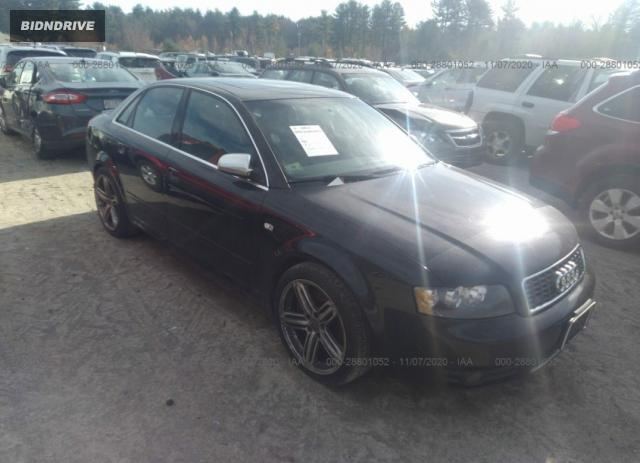Lot #1615955696 2004 AUDI S4 salvage car