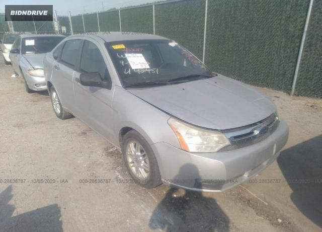 Lot #1615992053 2009 FORD FOCUS SE salvage car