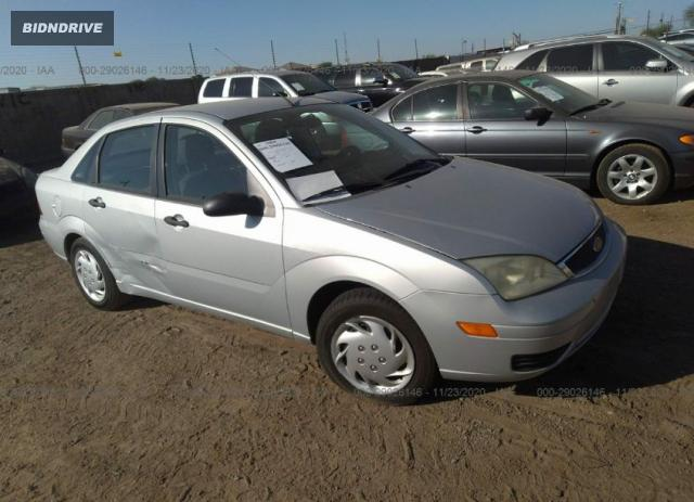 Lot #1615992186 2006 FORD FOCUS S/SE/SES salvage car