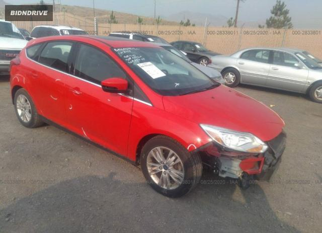 Lot #1617031073 2012 FORD FOCUS SEL salvage car