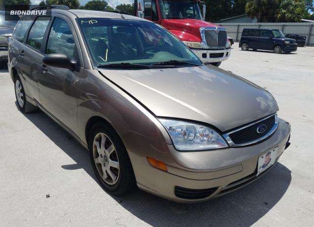 Lot #1617106389 2005 FORD FOCUS ZXW salvage car