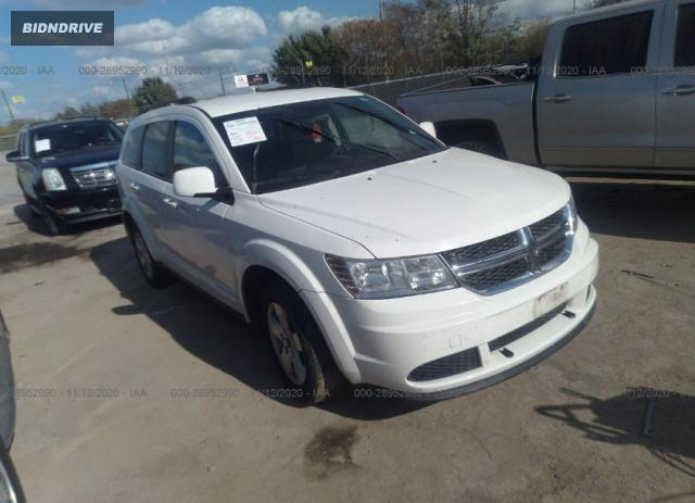 Lot #1617530576 2011 DODGE JOURNEY MAINSTREET salvage car