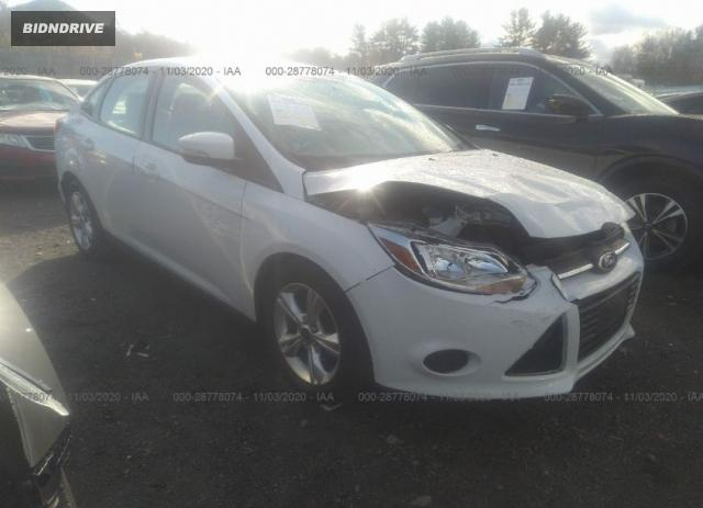 Lot #1617539293 2013 FORD FOCUS SE salvage car