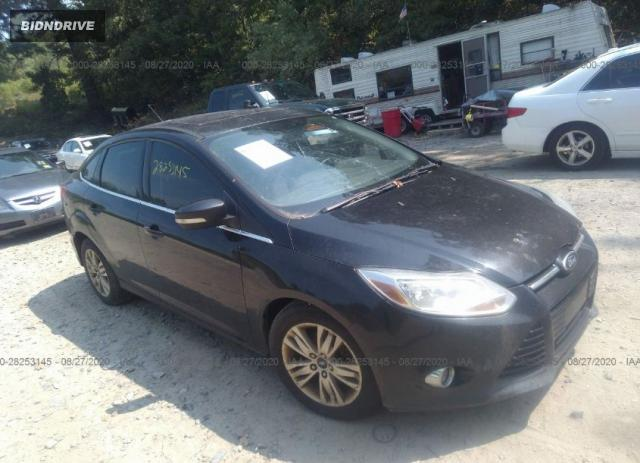 Lot #1617539423 2012 FORD FOCUS SEL salvage car