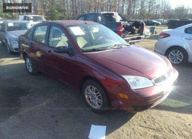 Lot #1617539619 2006 FORD FOCUS S/SE/SES salvage car