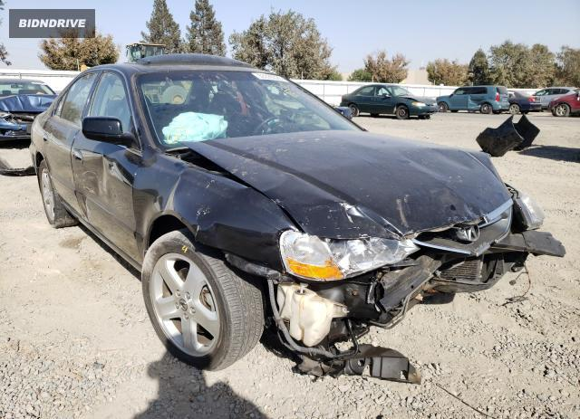 Lot #1617631683 2002 ACURA 3.2TL TYPE salvage car