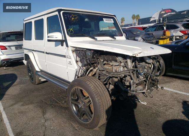 Lot #1620878953 2017 MERCEDES-BENZ G 63 AMG salvage car