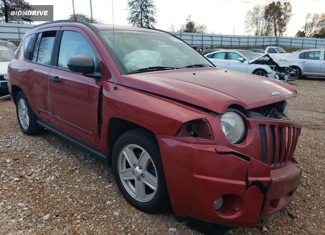 Lot #1621957806 2009 JEEP COMPASS SP salvage car
