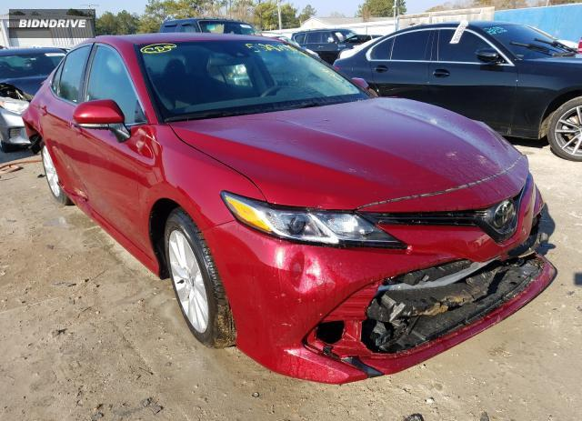 Lot #1625335443 2020 TOYOTA CAMRY LE salvage car