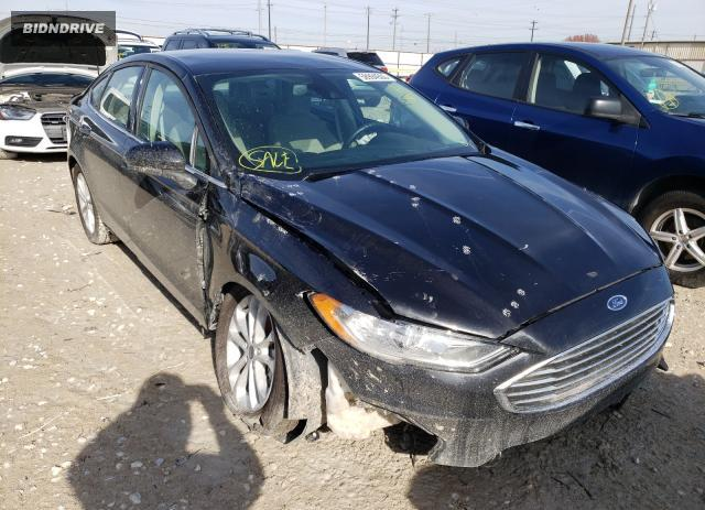 Lot #1625355203 2020 FORD FUSION SE salvage car